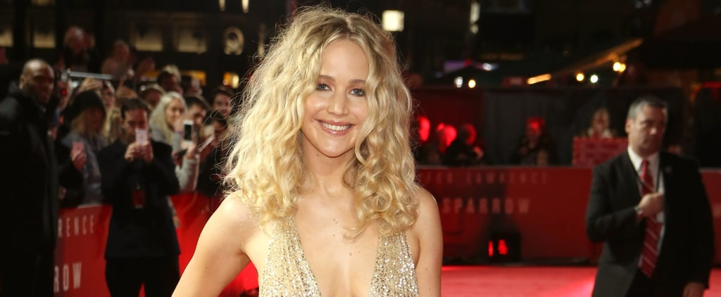 Jennifer Lawrence Wore the Most Special Dress to the Red Sparrow European Premiere