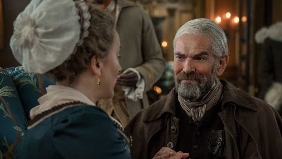 Do Murtagh and Jocasta Get Together in the Outlander Books