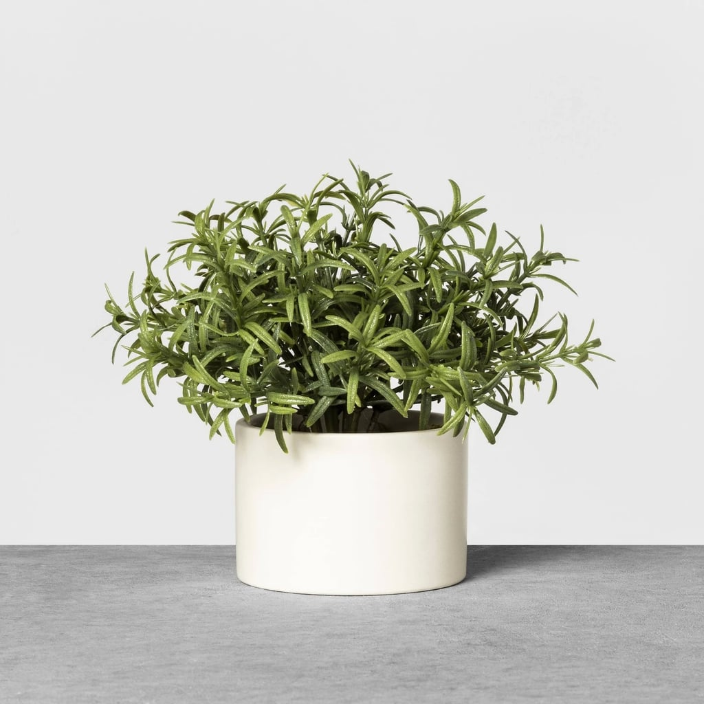 Faux Rosemary Potted Plant