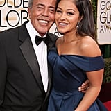 When Gina Rodriguez Brought Her Dad as Her Date to the Golden Globes