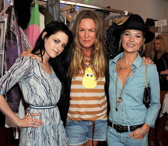 With Mulberry Designer Emma Hill