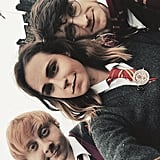 Ron, Hermione, and Harry Potter
