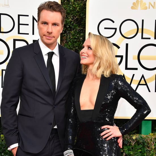 Kristen Bell and Dax Shepard at 2017 Golden Globe Awards