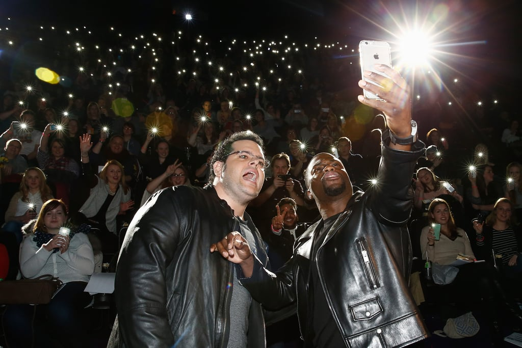 Josh Gad and Kevin Hart took an epic selfie at an event for
