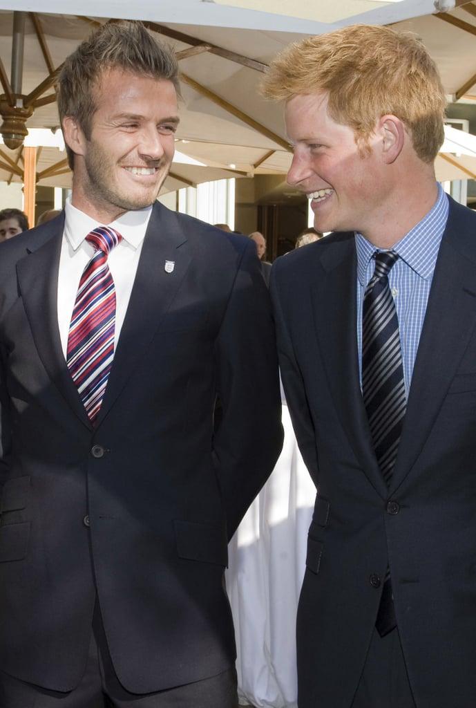 David Beckham Named Ambassador Prince Harry's Invictus Games