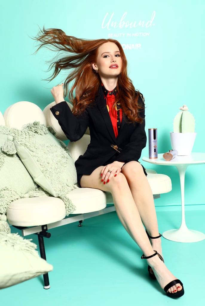 Madelaine Petsch on Her Minimalist Hair Routine