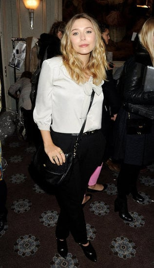 Elizabeth Olsen at Mulberry
