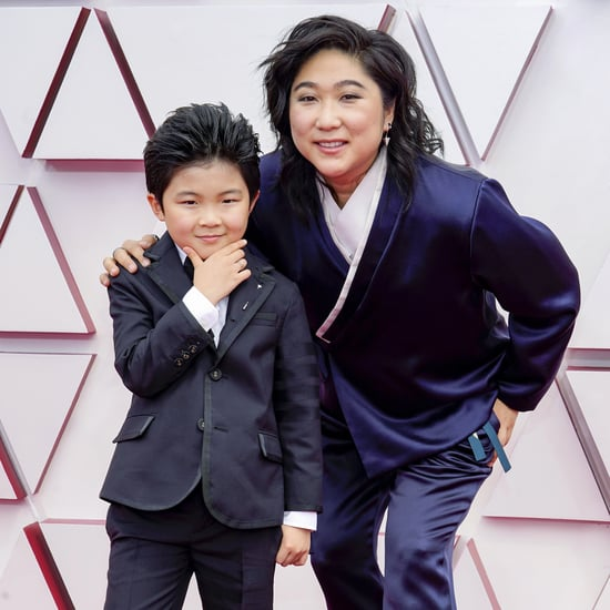 Alan Kim at the Oscars 2021