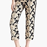 The floral jacquard on these cropped trousers are easy enough to dress up or down. Add heels and a silky tank for a night out or velvet loafers and a blazer for the office. Marni Crop Straight Leg Brocade Pants ($830)