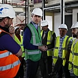 Prince William Painting a Community Center London May 2018