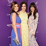 Lea made sure to pose for photos with her friends Jenna Dewan and Jamie-Lynn Sigler at the Chrysalis Butterfly Ball in LA in June 2012.