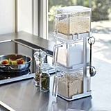 Tower Salt and Sugar Container 2 Jar Spice Rack
