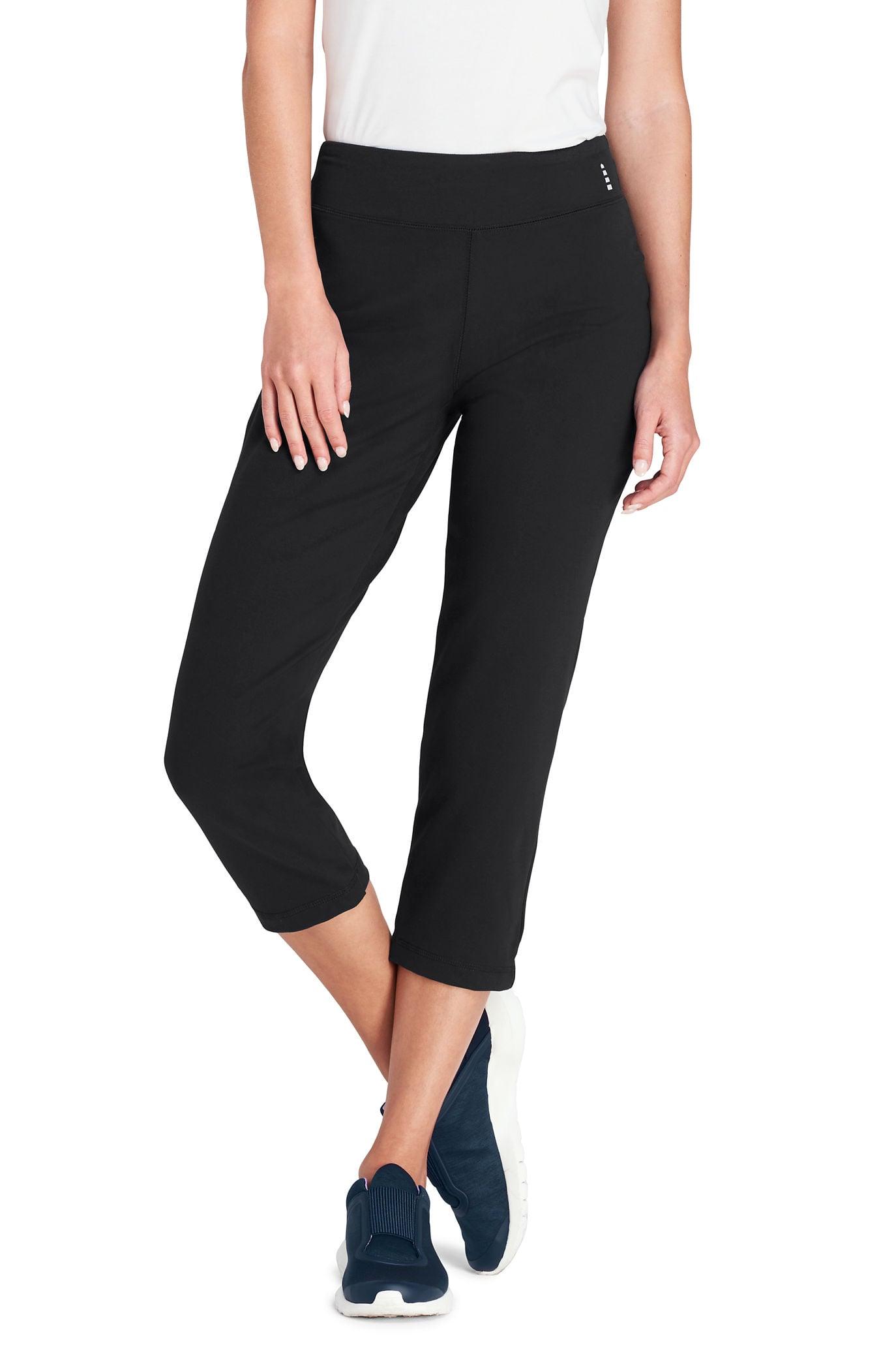9fcb2e68a4a53 Lands' End Women's Tall Active Crop Yoga Pant | The 15 Most ...