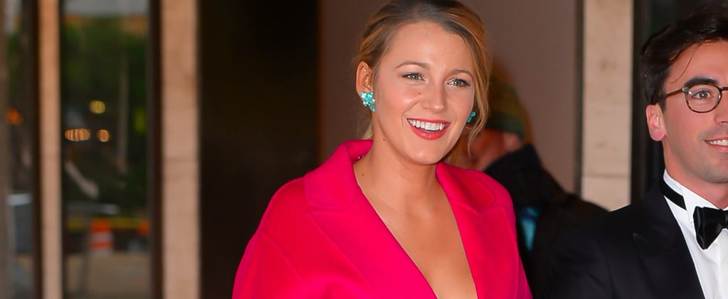 Blake Lively Electrifies a Black-Tie Event in an All-Neon Outfit