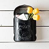 Metal Black Post Box ($58)