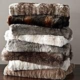 Faux Fur Throw ($99)