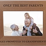 Grandparents Wood Picture Frame