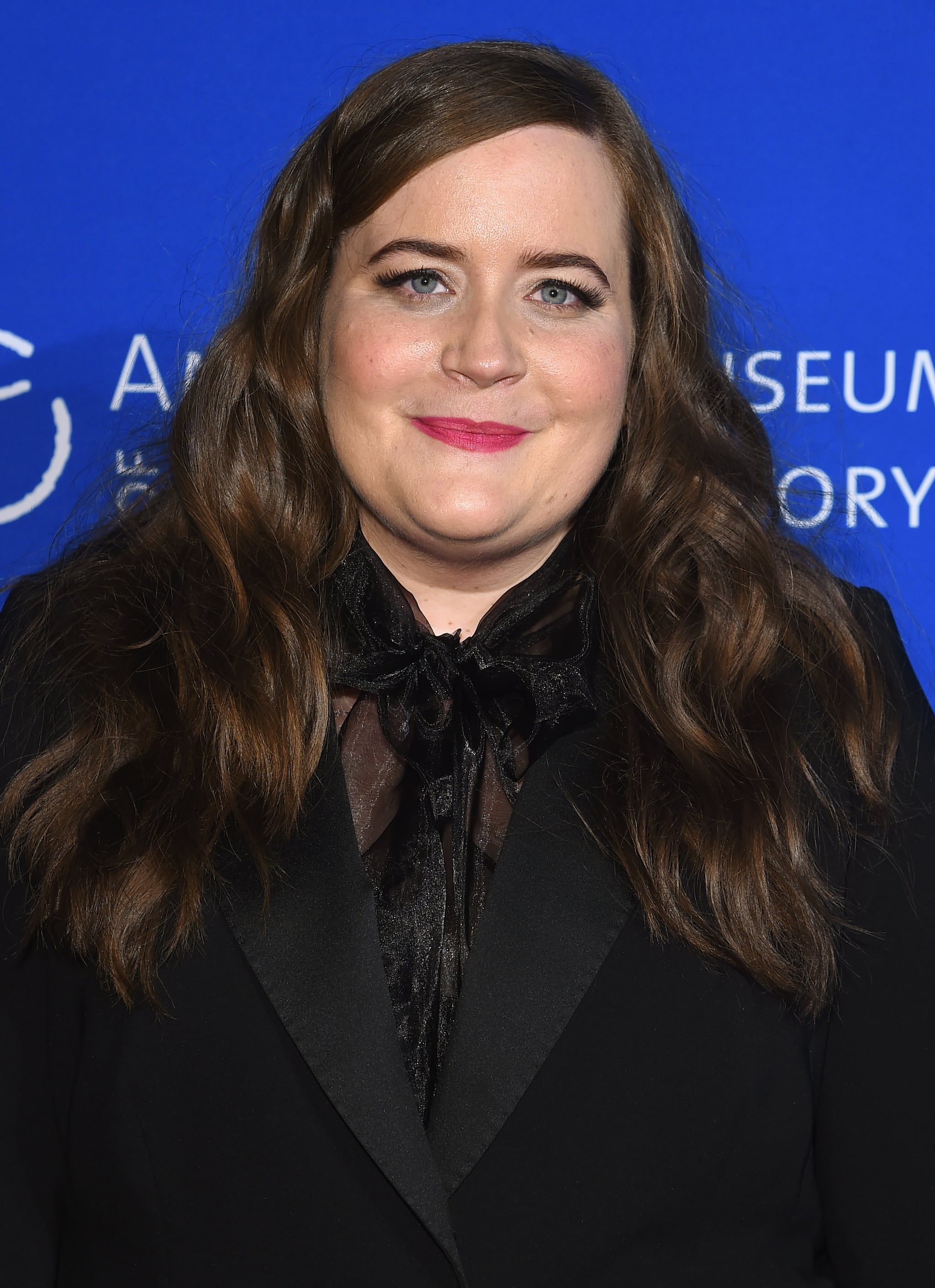 NEW YORK, NY - NOVEMBER 30:  Aidy Bryant attends the American Museum Of Natural History's 2017 Museum Gala at American Museum of Natural History on November 30, 2017 in New York City.  (Photo by Jamie McCarthy/Getty Images)