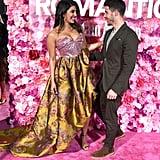 نِك جوناس وبريانكا شوبرا في العرض الأول لفيلم  ISN'T IT ROMA
