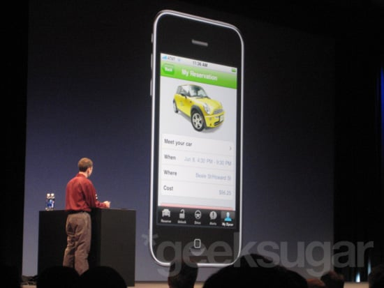 Apple Teams Up With Zipcar to Get You Going