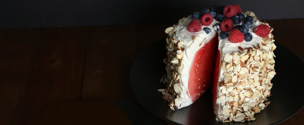 How to Bake a Watermelon Cake