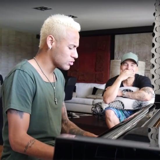 """Neymar Jr. Performing His Song """"Yo Necesito"""" Video"""