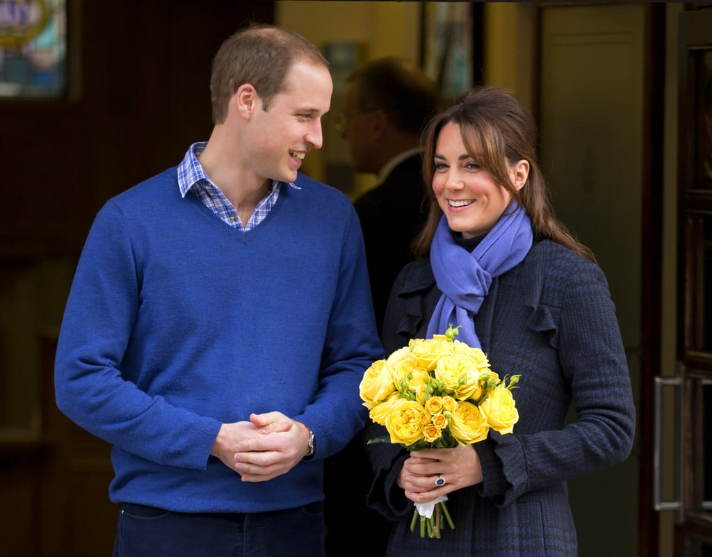 The Duke and Duchess of Cambridge left King Edward VII hospital in December.