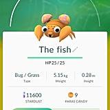 "Paras aka ""The fish"""