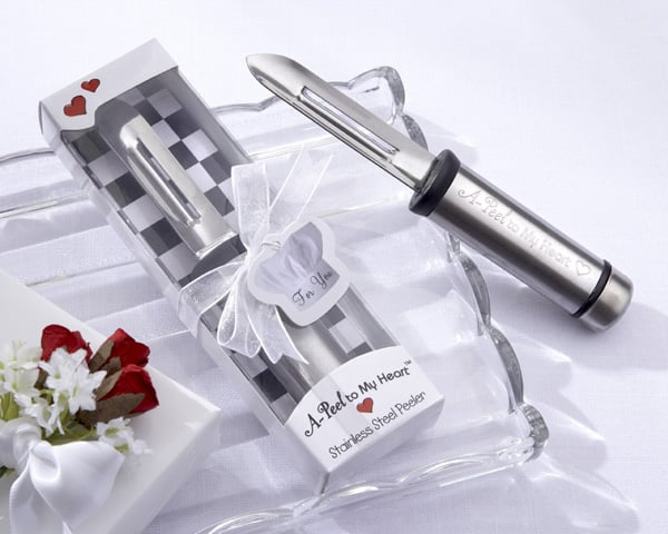 """This stainless-steel peeler will """"a-peel"""" to their hearts!"""