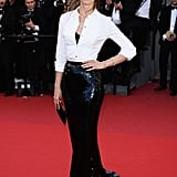 Jessica Miller at the Cannes premiere of Le Passé.