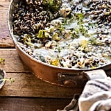 One-Pan Broccoli Cheese Wild Rice Casserole