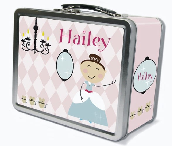 Frecklebox Princess Lunchbox