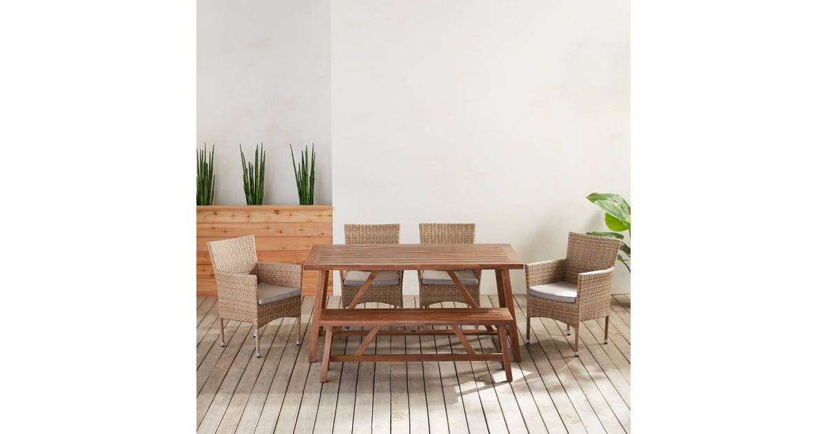 Capri and Universal Bench Dining Collection | Pier 1 ...