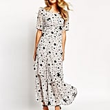 Sister Jane Galaxy Maxi Dress in Star Print ($130)