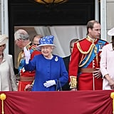 Pregnant Kate Middleton at Trooping the Color Pictures