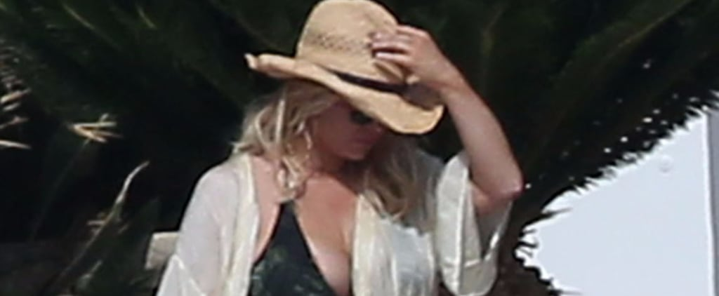 Jessica Simpson Soaks Up the Sun in a Bikini During a Family Vacation in Mexico