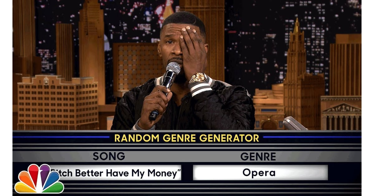 The Tonight Show's Musical Genre Challenge With Jamie Foxx