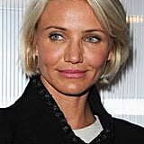 Cameron Diaz brought her new, very blond 'do to Paris.