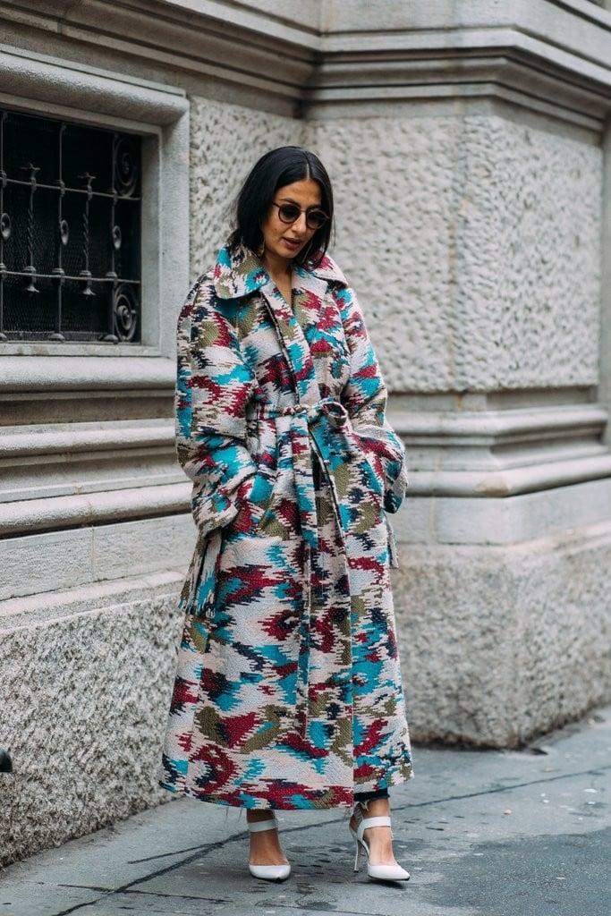 Best Street Style Fashion Week Fall 2018 Popsugar Fashion