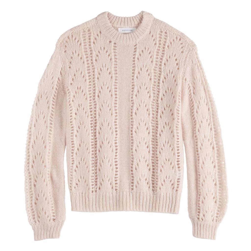 POPSUGAR Fluffy Pointelle Sweater