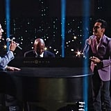 "Luis Figueroa and Marc Anthony Performing ""Flor Pálida"""