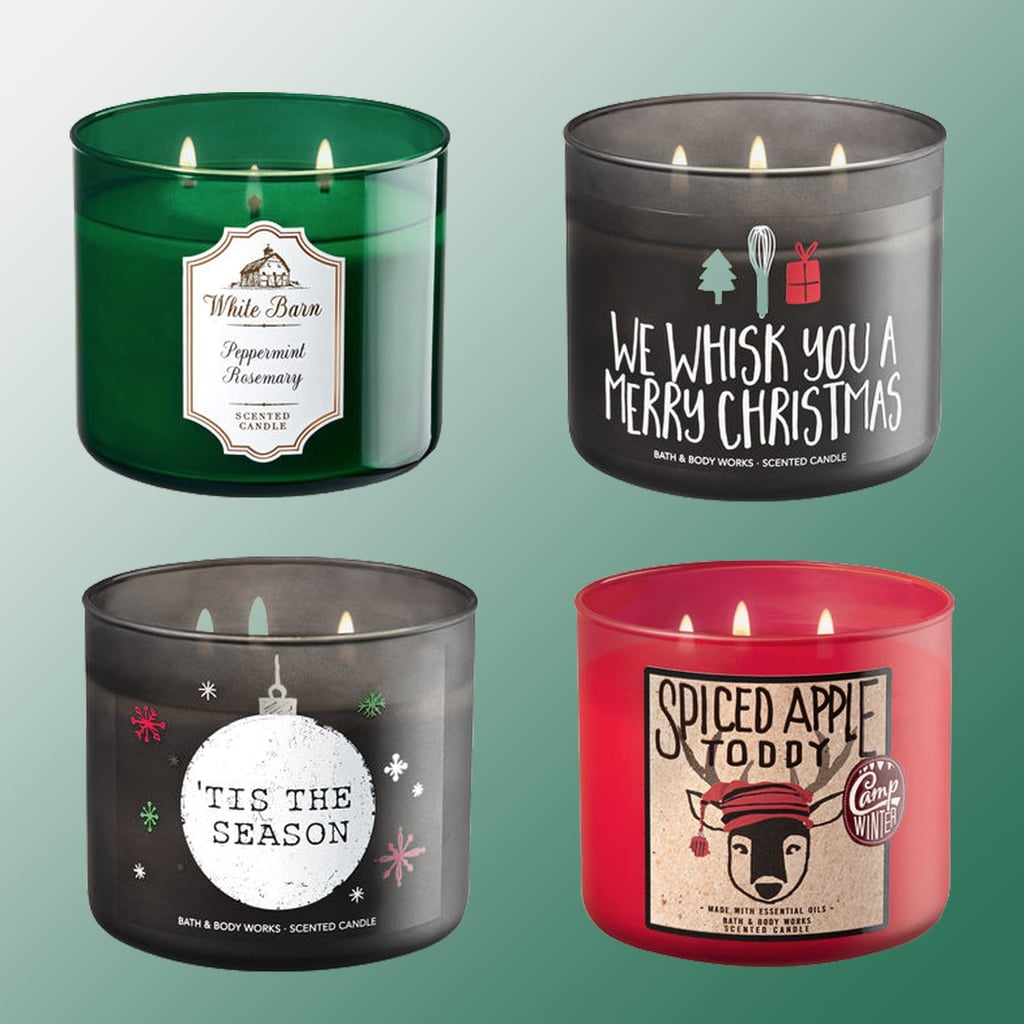 bath body works holiday christmas candles 2017 popsugar home. Black Bedroom Furniture Sets. Home Design Ideas