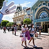 Pictures of Hong Kong Disneyland Reopening Amid Coronavirus