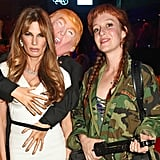 Jemima Khan's Melania Trump Groping Halloween Costume