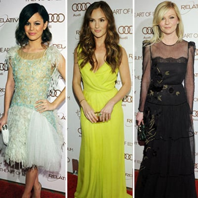 Art of Elysium Heaven Gala 2012 Celebrity Pictures: Rachel Bilson, Molly Sims, Minka Kelly, Kirsten Dunst