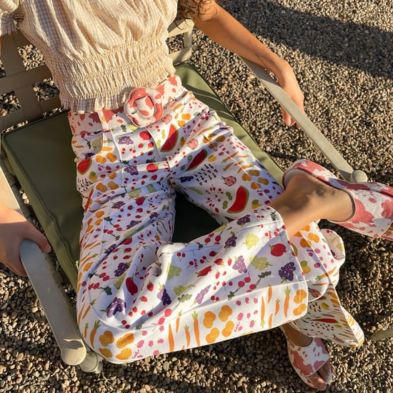 Ways to Try the Patterned-Pants Trend