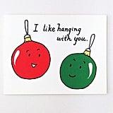 Cute Best Friend Christmas Card