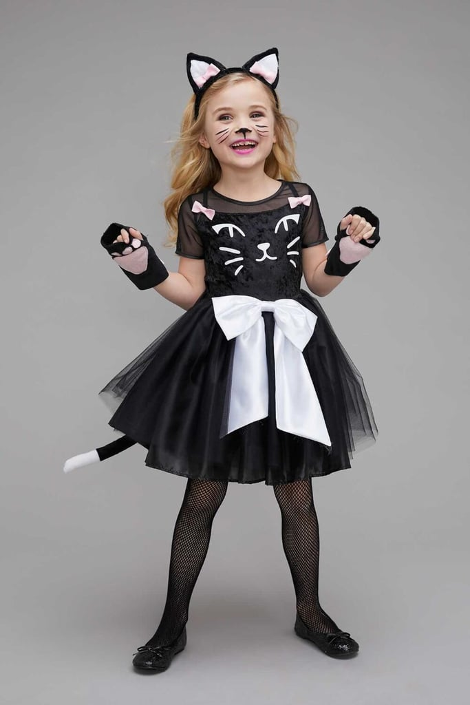 Chasing Fireflies Black Cat Costume  sc 1 st  Popsugar & Chasing Fireflies Black Cat Costume | Halloween Costumes Kids Can ...