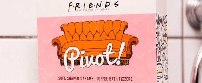 Firebox Friends-Themed Bath Bombs Review