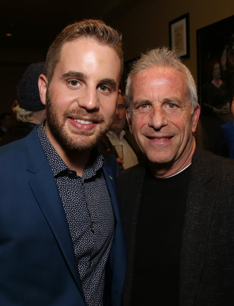 "Talent certainly runs in Ben Platt's family. The 26-year-old has made a big name for himself with his acting and music career, but his father, Marc Platt, is just as brilliant. In addition to producing the hit musical Wicked, Marc has worked on countless blockbuster films like La La Land, Legally Blonde, and Mary Poppins Returns. While Ben clearly gets his love of theater from Marc, his dad also inspired how he approached stardom.  During his Netflix special, Ben Platt: Live From Radio City Music Hall, he gushed about his father, saying, ""I really love my father very much. My dad is the greatest. He's a wonderful person, and he's taught me many things, not the least of which is that being a decent human being comes far before being a decent artist. And it's only possible to be a decent artist if you are a decent human being."" He even wrote the song ""In Case You Don't Live Forever"" from his album Sing to Me Instead in honor of his dad.  Over the years, the father-son duo have shared a handful of sweet moments together as they cheer each other on in their personal endeavors. While Ben has attended a handful of his father's movie premieres, Marc was by Ben's side when he took home his first Tony Award in 2017. Ahead, see some of their best moments together.       Related:                                                                                                           10 Fascinating Facts About the Incredibly Talented Ben Platt"